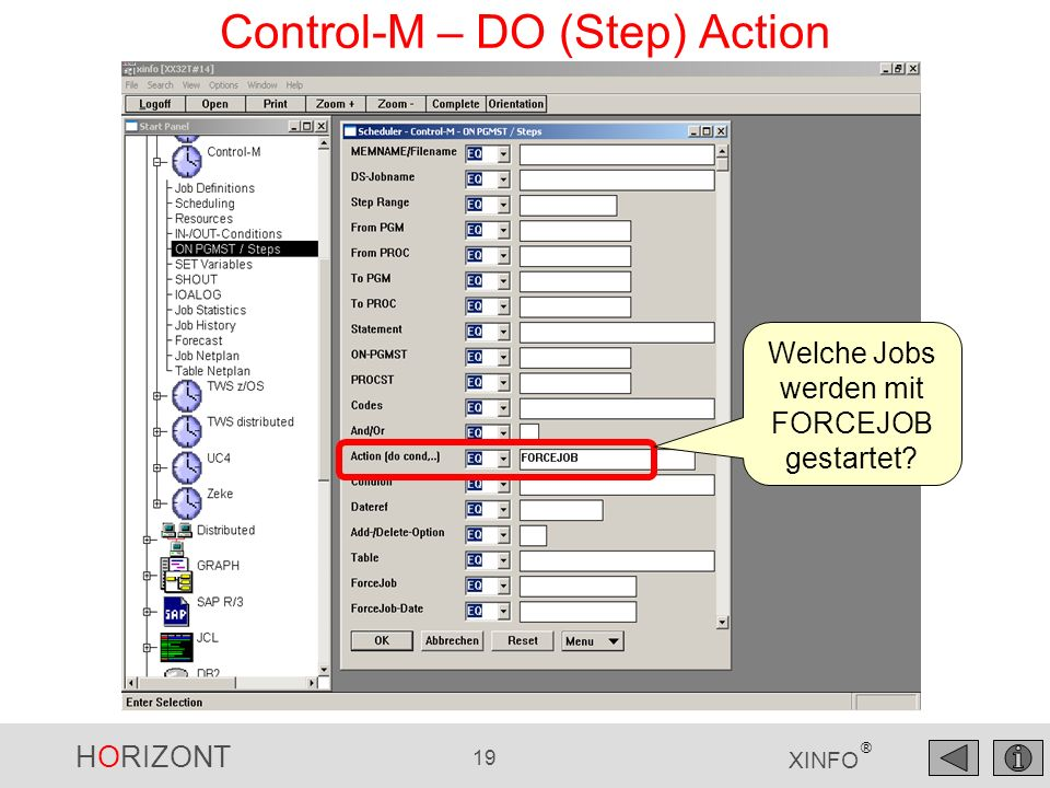 Control-M – DO (Step) Action
