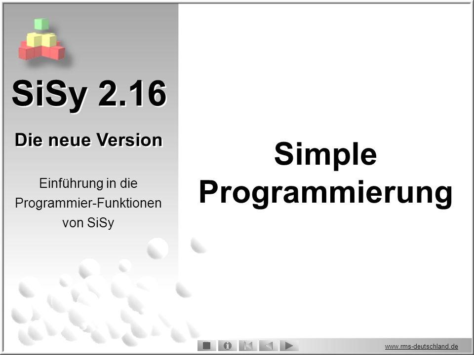 Simple Programmierung