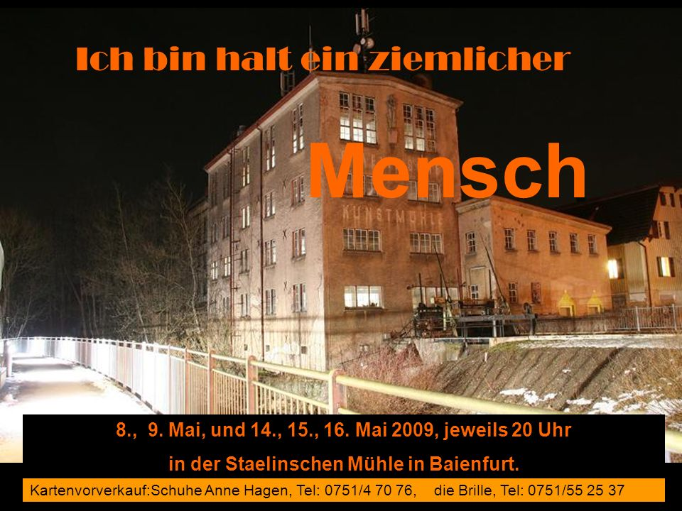 in der Staelinschen Mühle in Baienfurt.