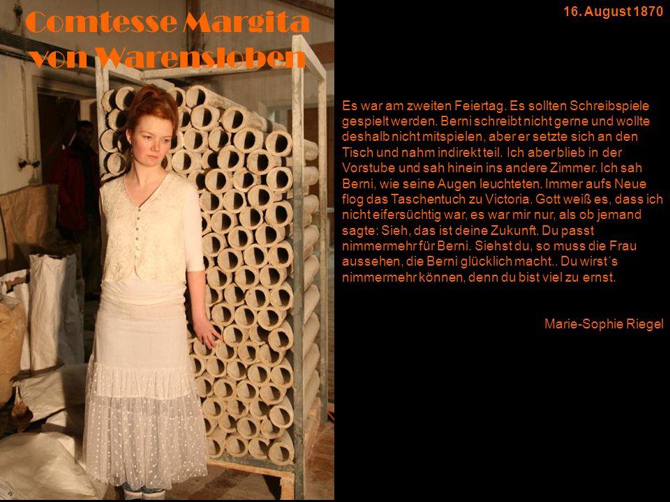Comtesse Margita von Warensloben