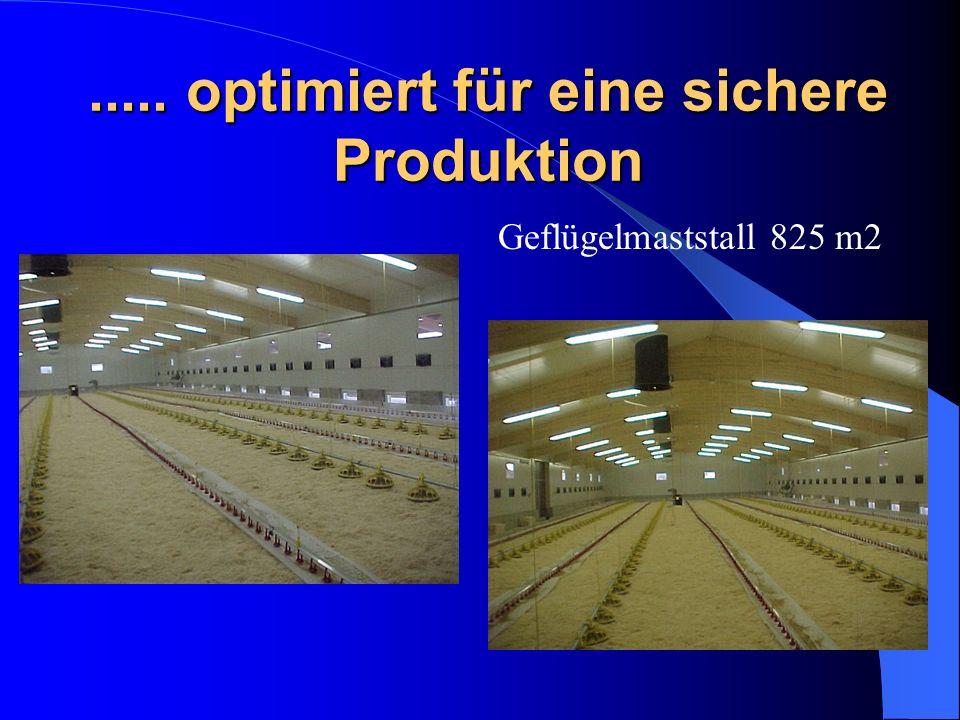 ..... optimiert für eine sichere Produktion