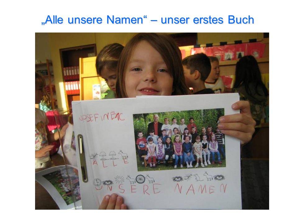 """""""Alle unsere Namen – unser erstes Buch"""