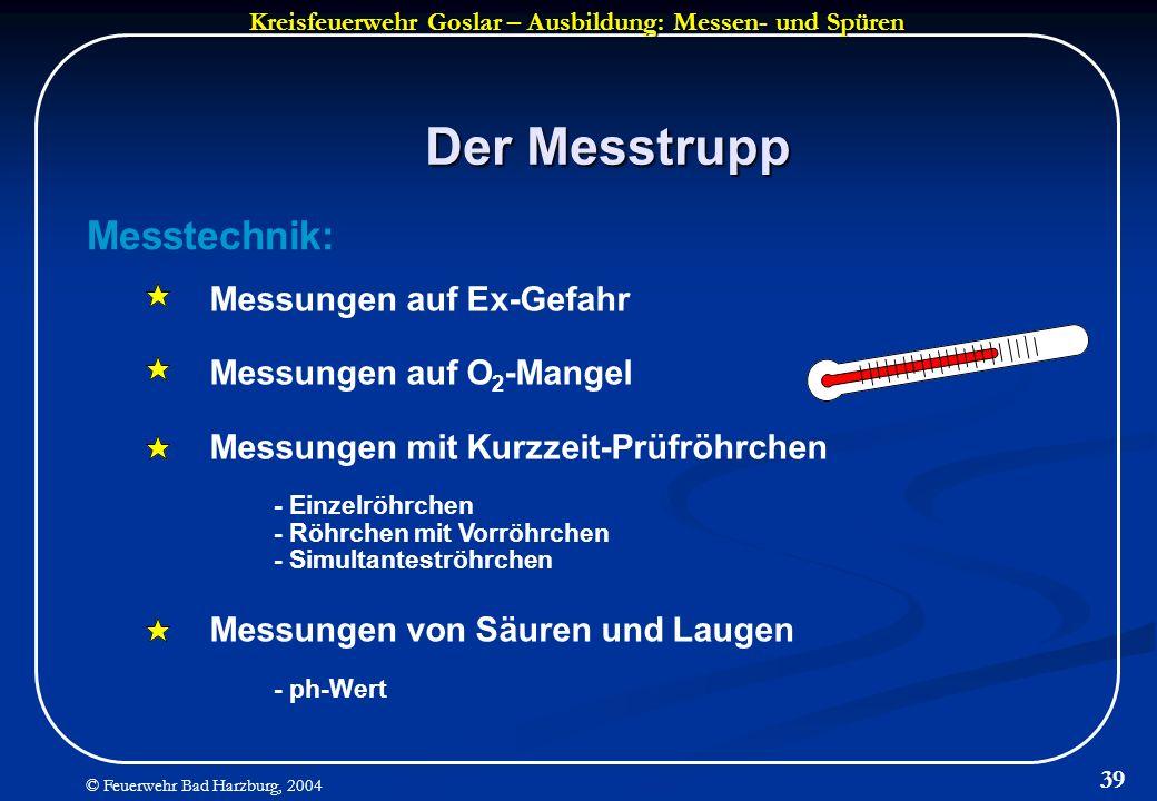 Der Messtrupp Messtechnik: Messungen auf Ex-Gefahr