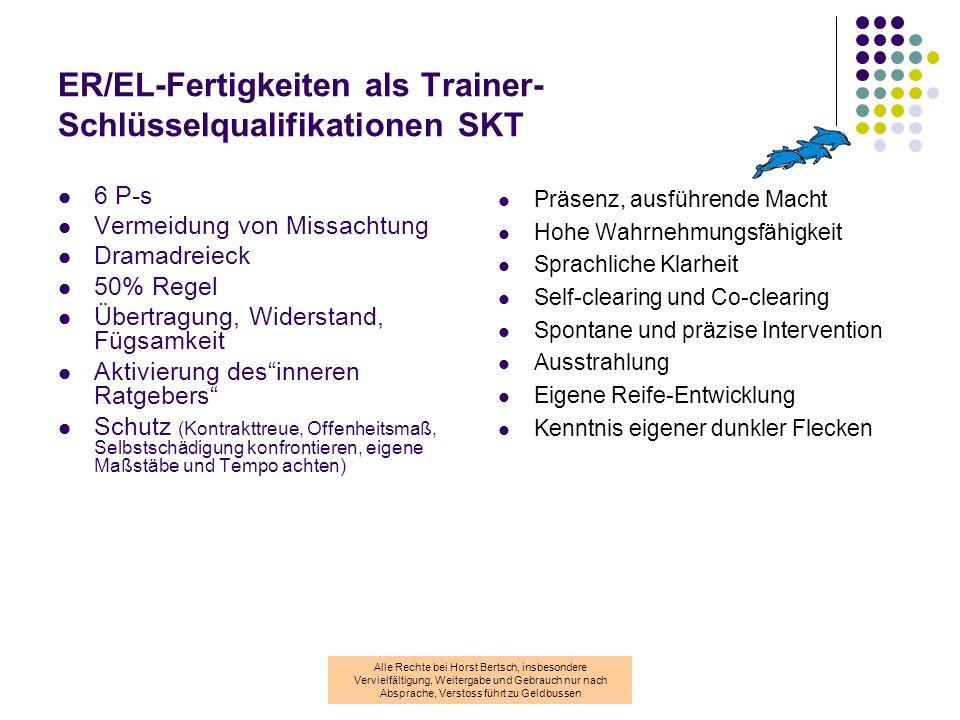 ER/EL-Fertigkeiten als Trainer-Schlüsselqualifikationen SKT