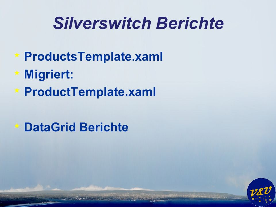 Silverswitch Berichte