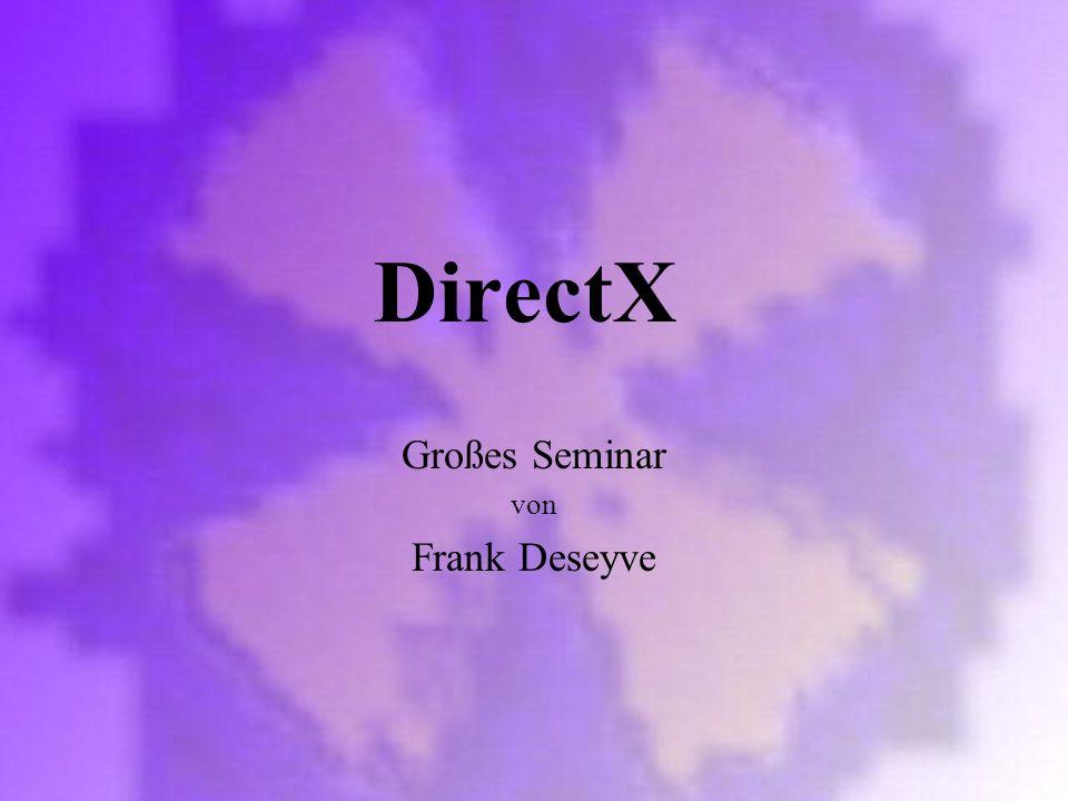Großes Seminar von Frank Deseyve
