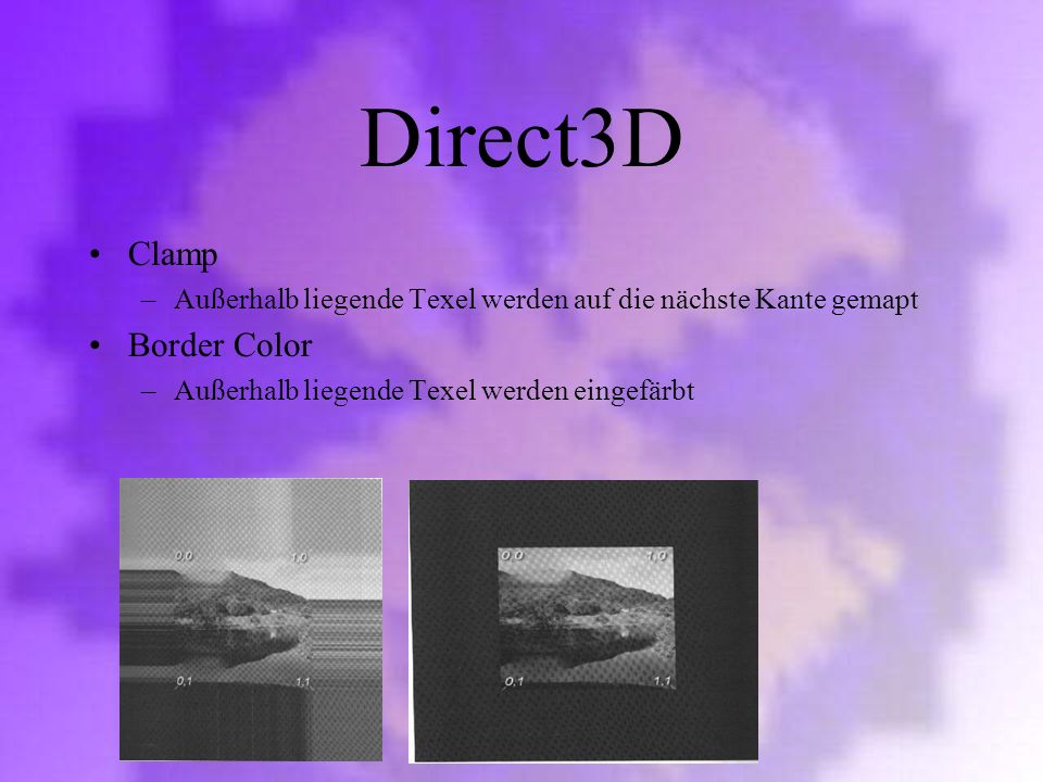 Direct3D Clamp Border Color