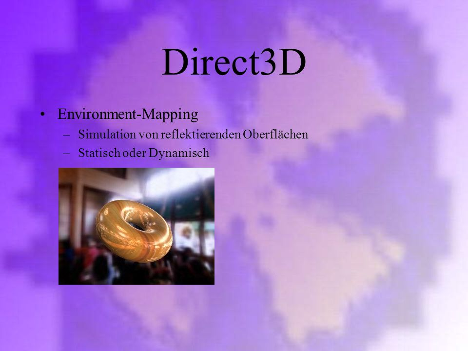 Direct3D Environment-Mapping