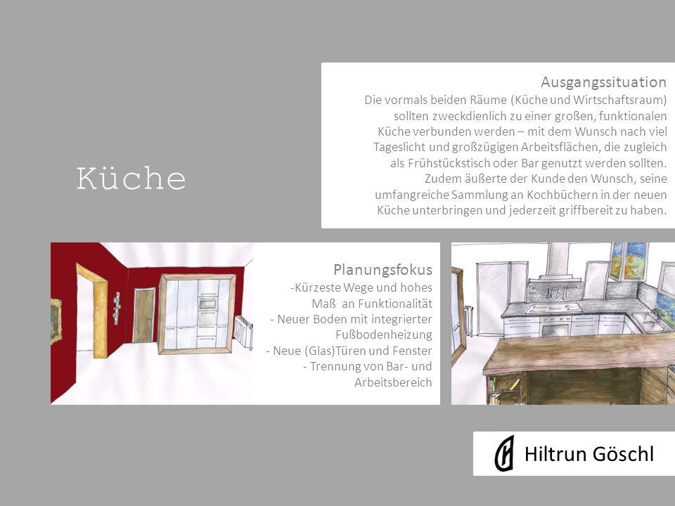 Küche Hiltrun Göschl Ausgangssituation Planungsfokus