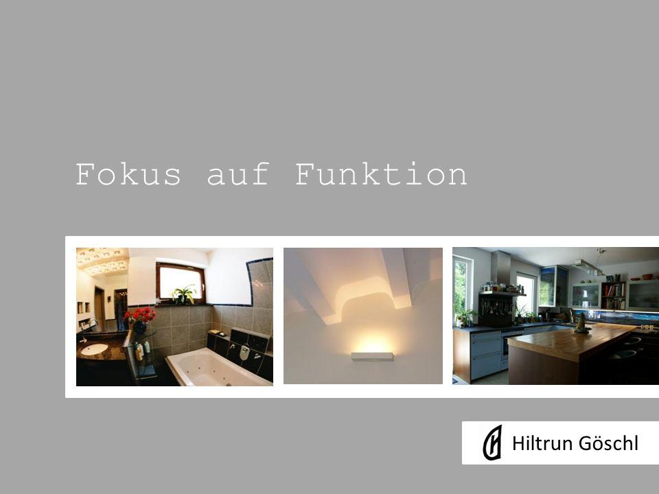 Fokus auf Funktion Hiltrun Göschl