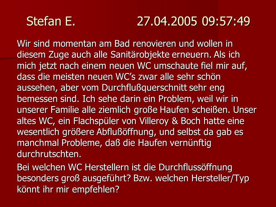 Stefan E. 27.04.2005 09:57:49