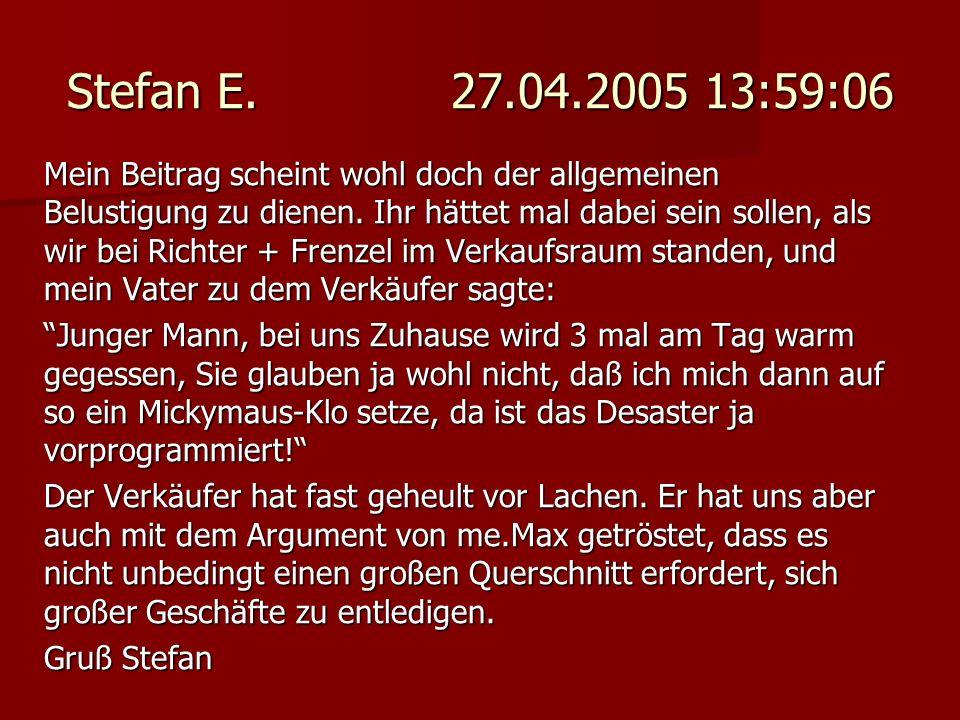 Stefan E. 27.04.2005 13:59:06