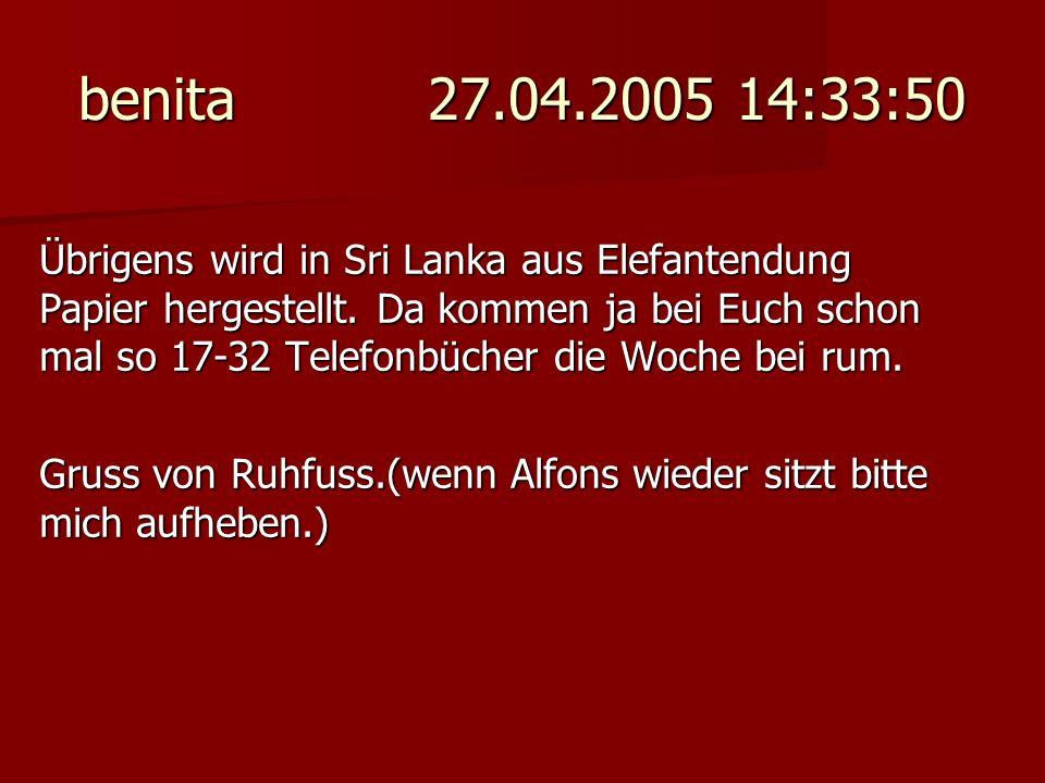 benita 27.04.2005 14:33:50