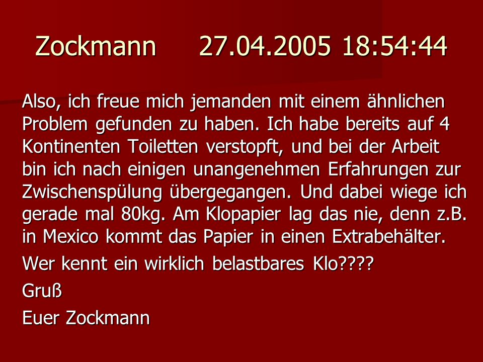 Zockmann 27.04.2005 18:54:44