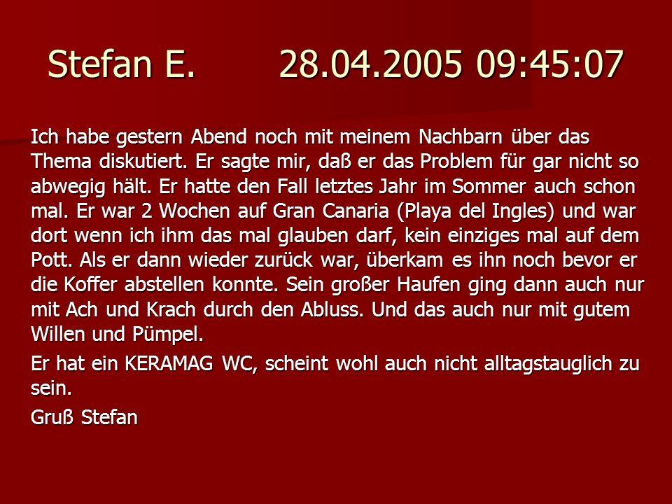 Stefan E. 28.04.2005 09:45:07