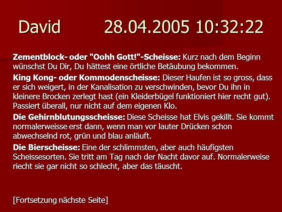 David 28.04.2005 10:32:22