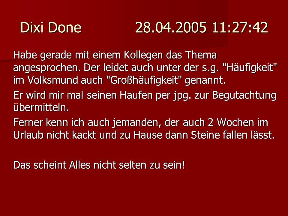 Dixi Done 28.04.2005 11:27:42