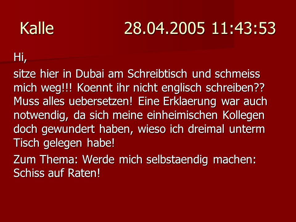 Kalle 28.04.2005 11:43:53 Hi,