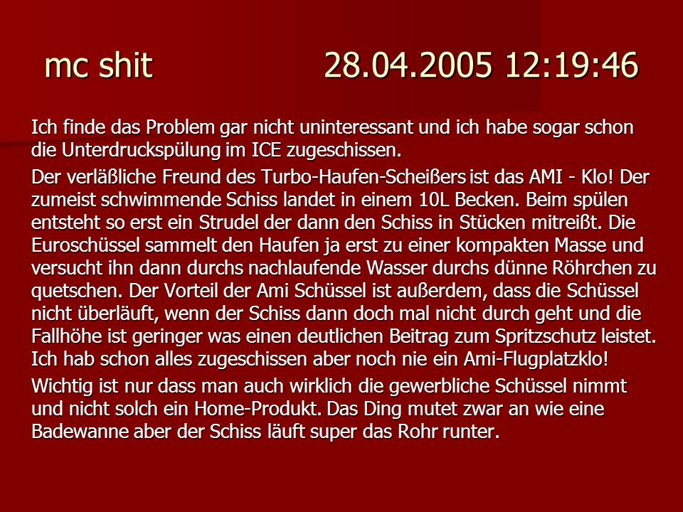 mc shit 28.04.2005 12:19:46