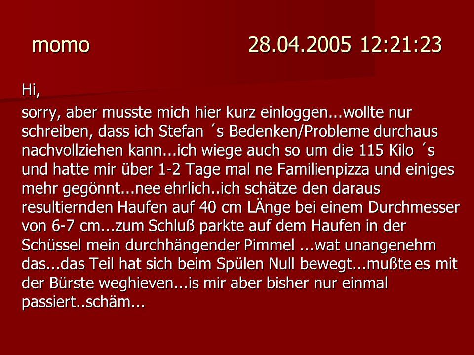 momo 28.04.2005 12:21:23 Hi,
