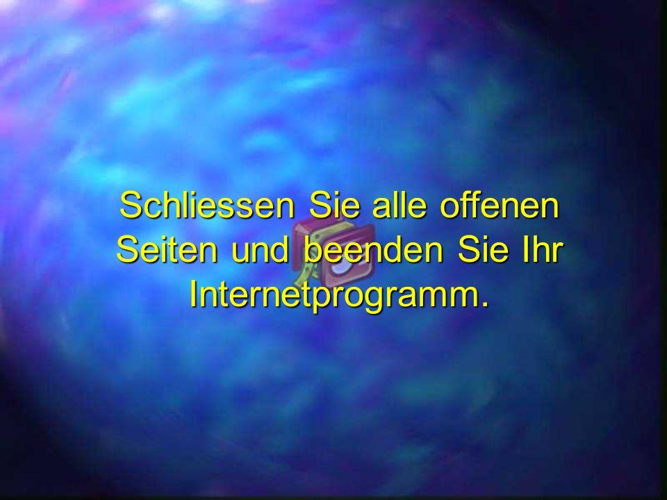 Download von PPSFun.de Schliessen Sie alle offenen Seiten und beenden Sie Ihr Internetprogramm.