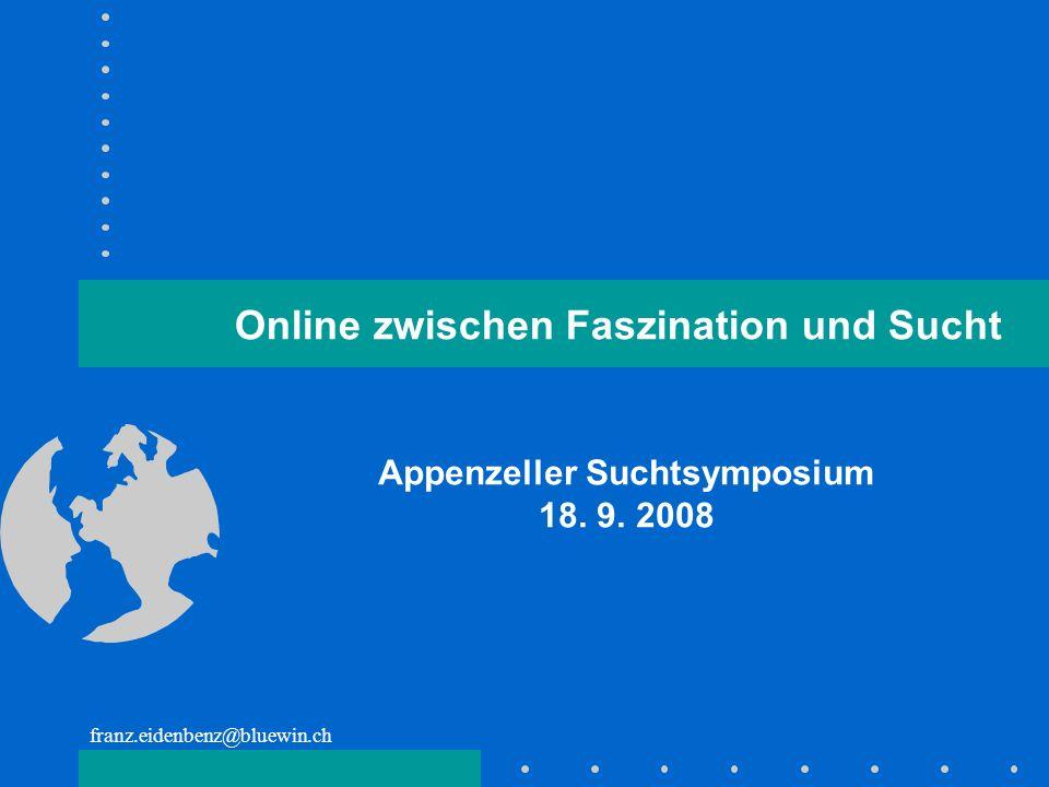 Appenzeller Suchtsymposium 18. 9. 2008