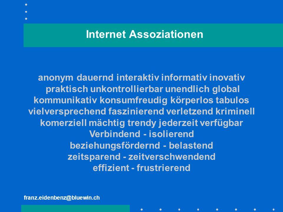 Internet Assoziationen