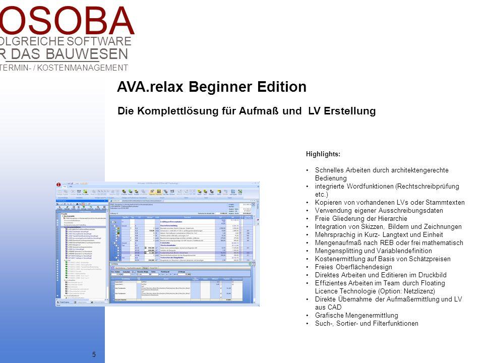 AVA.relax Beginner Edition