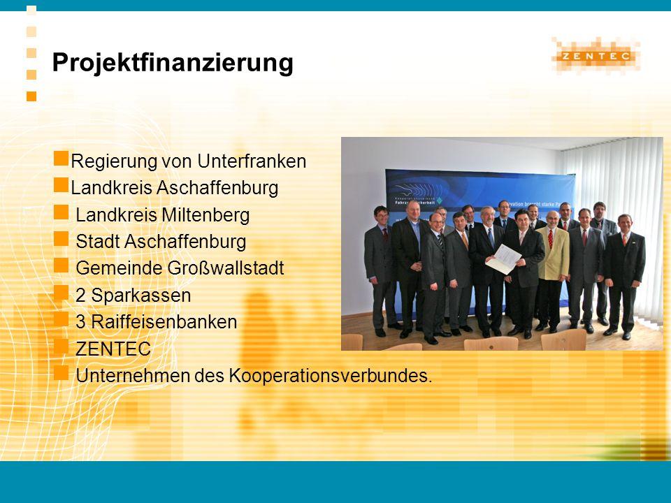 Projektfinanzierung Regierung von Unterfranken Landkreis Aschaffenburg