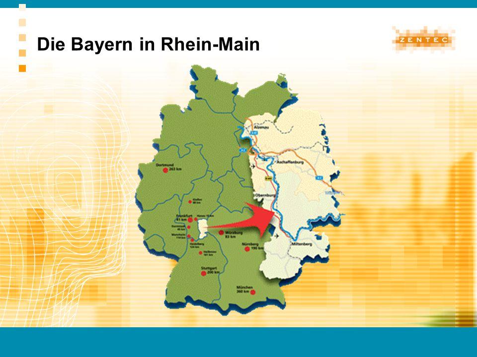 Die Bayern in Rhein-Main