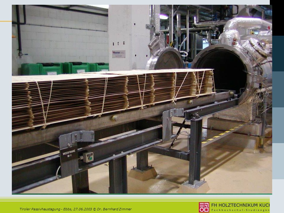 Moderne Holzwerkstoffe