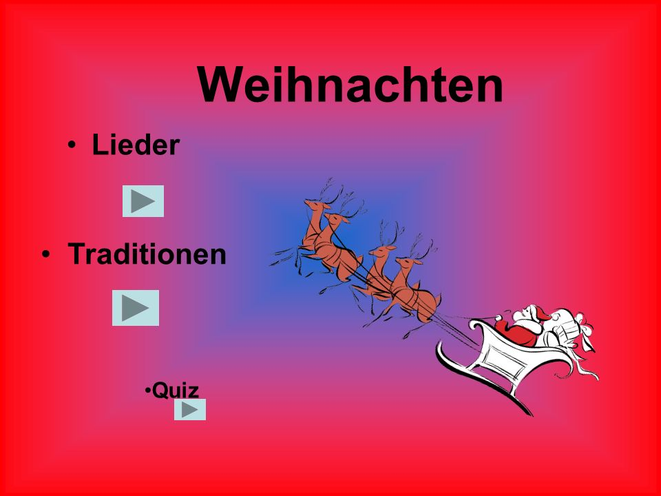 Weihnachten Lieder Traditionen Quiz