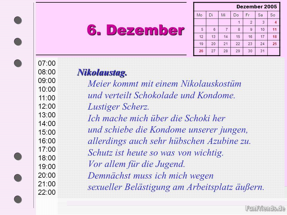 6. Dezember