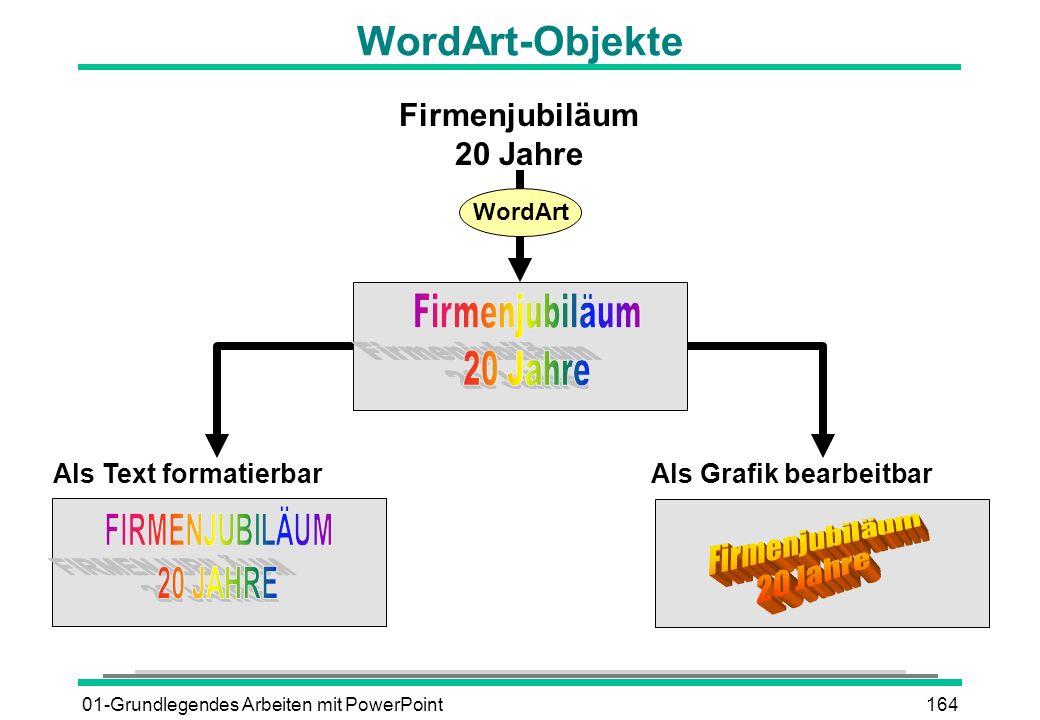 WordArt-Objekte Firmenjubiläum 20 Jahre Firmenjubiläum 20 Jahre