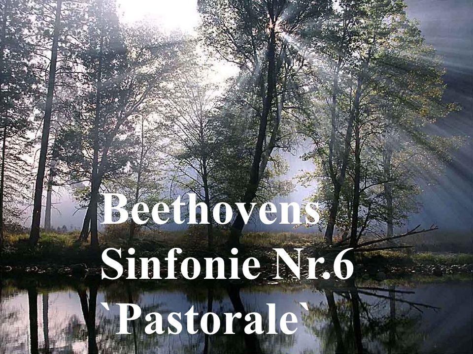 Beethovens Sinfonie Nr.6 `Pastorale`