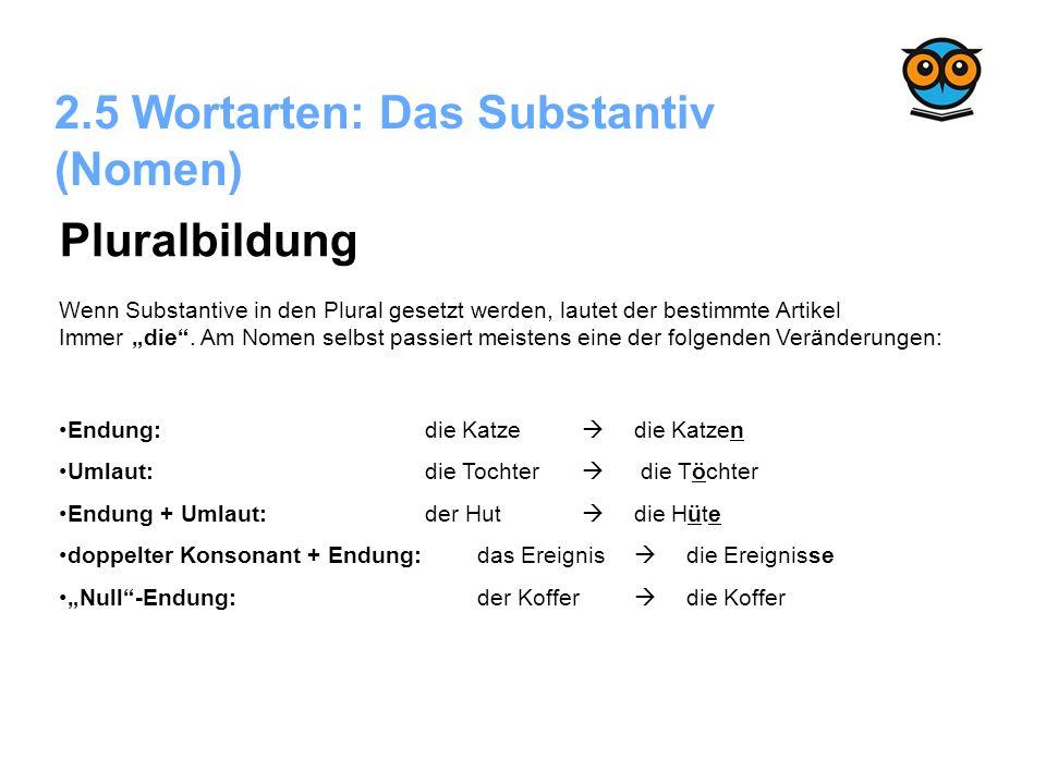 Modern Plural Substantive Einer Tabelle 5Klasse Elaboration ...