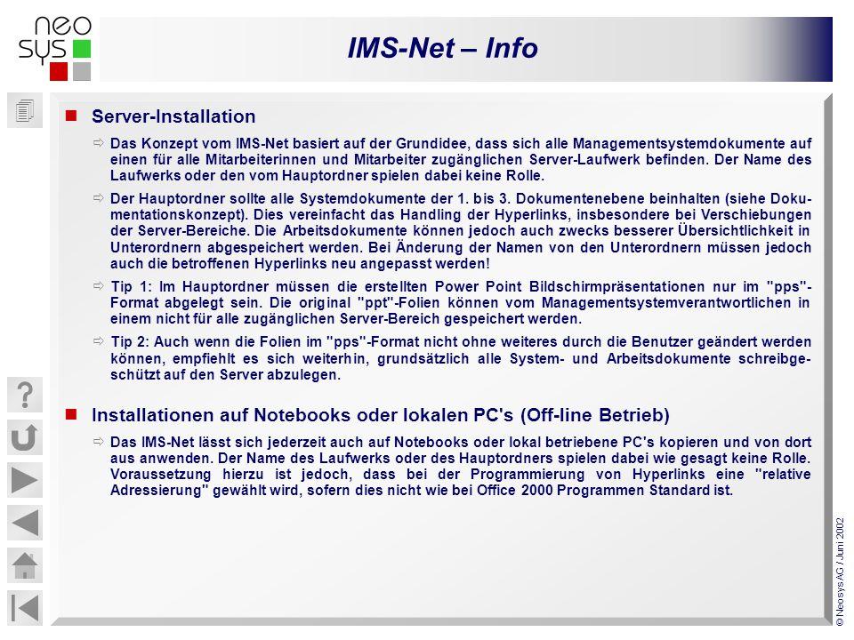 Installationen auf Notebooks oder lokalen PC s (Off-line Betrieb)