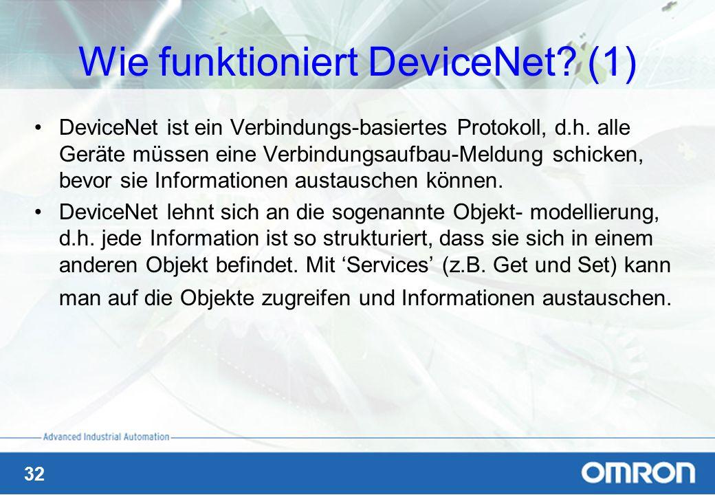 Wie funktioniert DeviceNet (1)