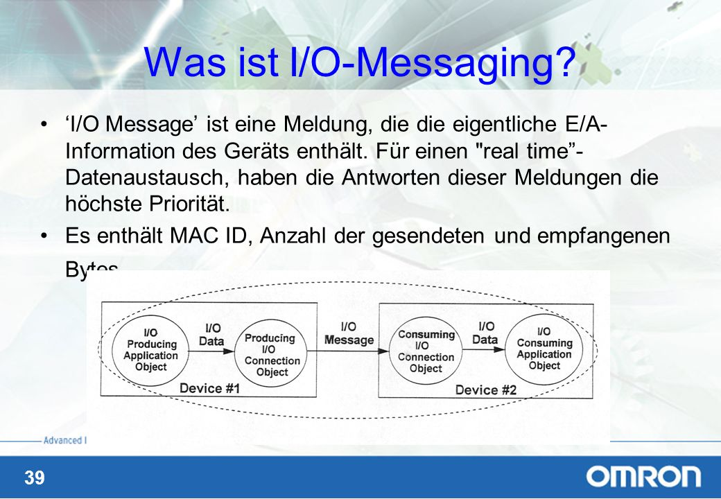 Was ist I/O-Messaging