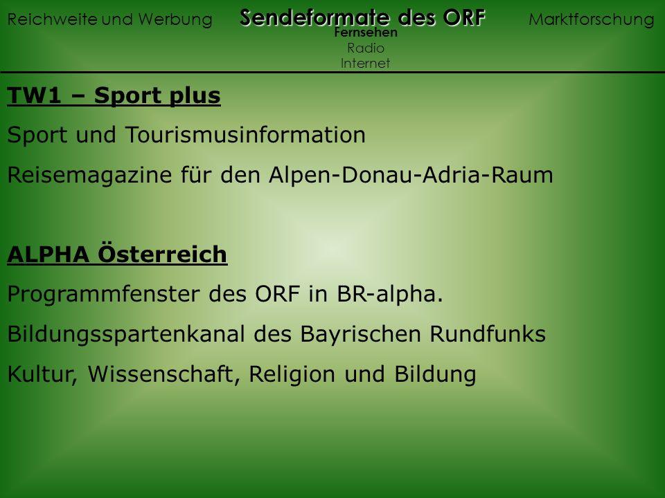 Sport und Tourismusinformation