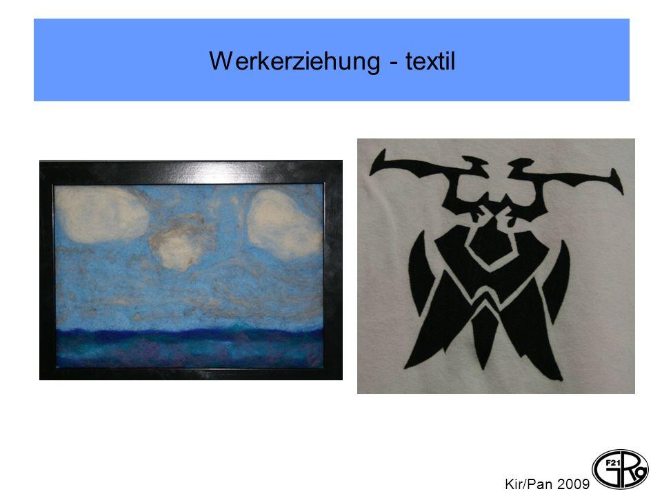 Werkerziehung - textil