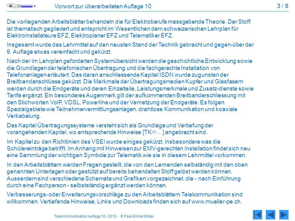 3 / 6 Vorwort zur überarbeiteten Auflage 10.