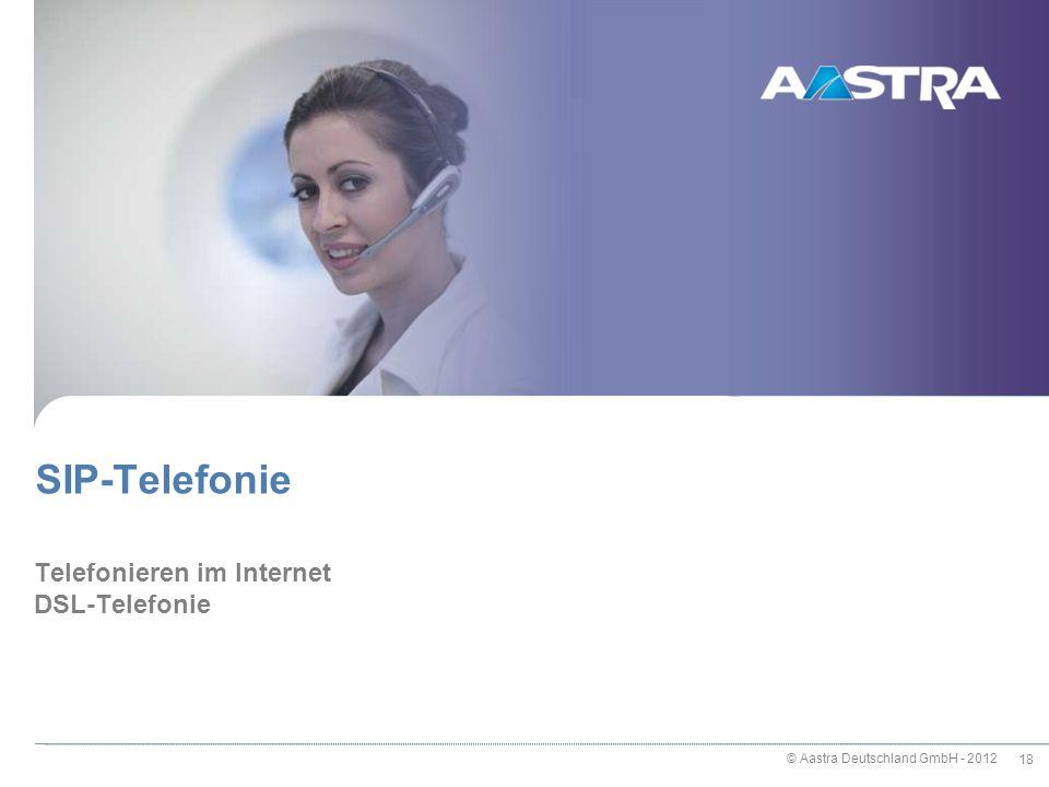 Telefonieren im Internet DSL-Telefonie