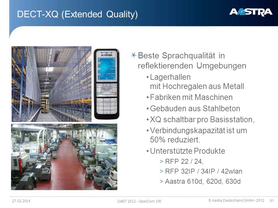 DECT-XQ (Extended Quality)