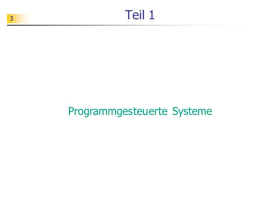 Programmgesteuerte Systeme