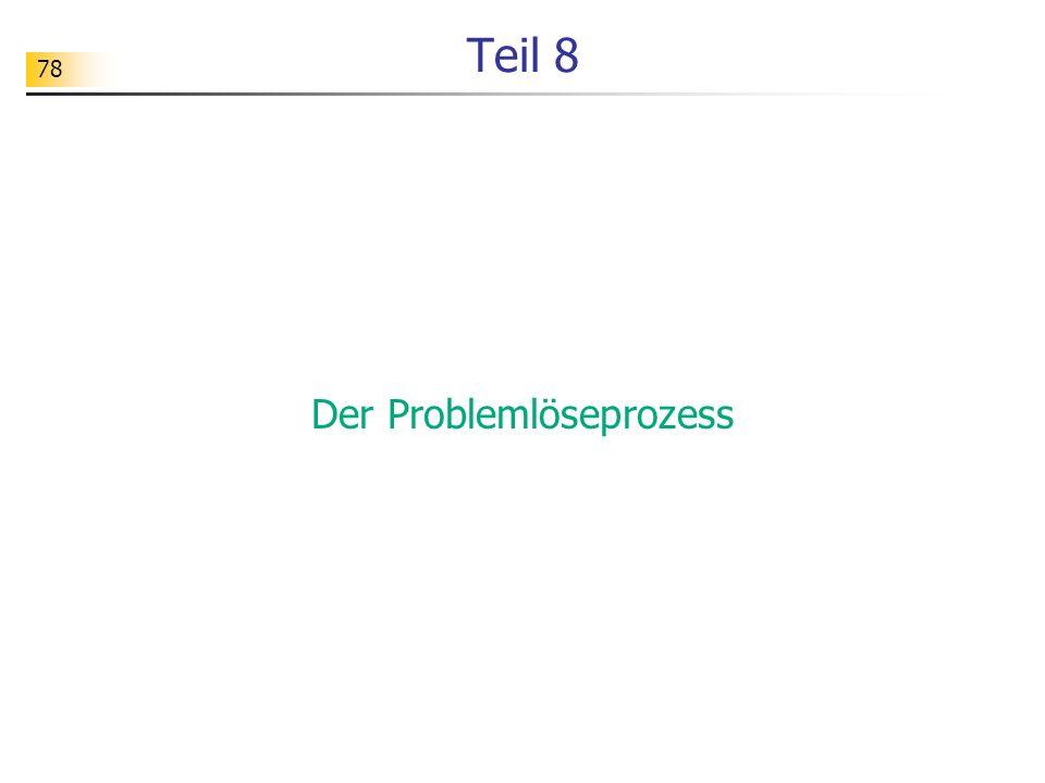 Der Problemlöseprozess