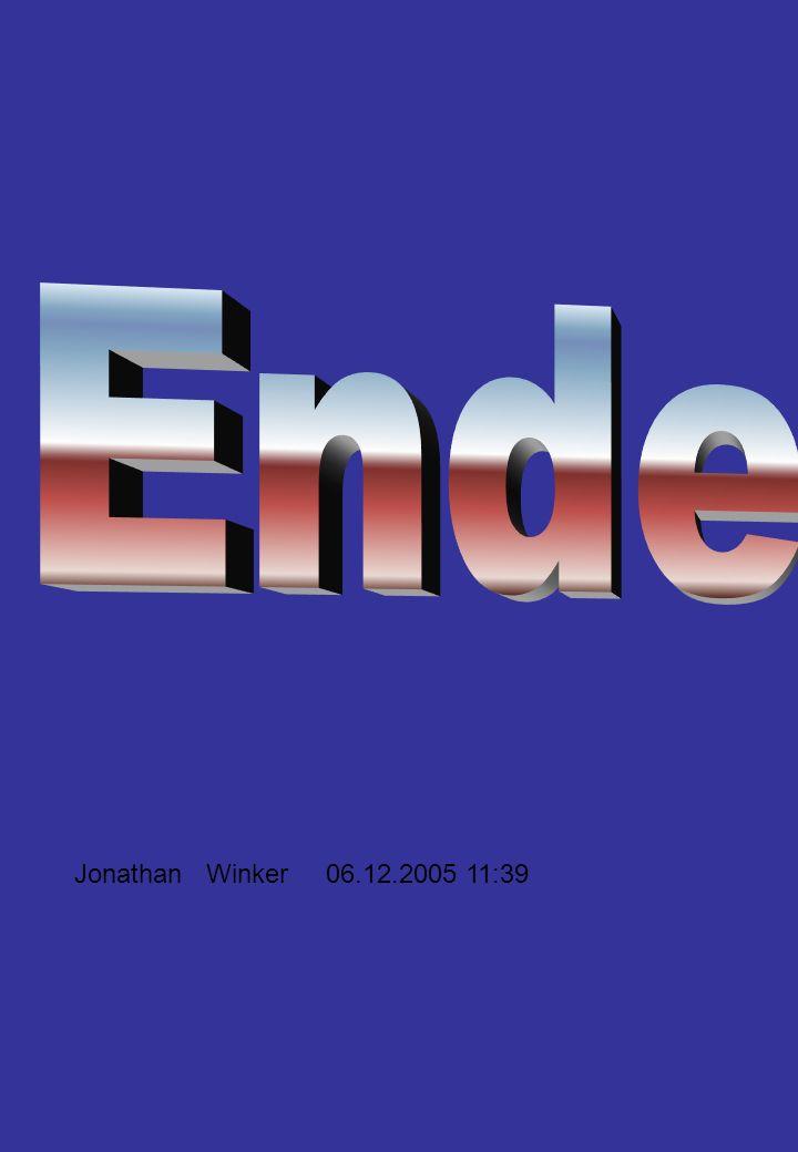 Ende Jonathan Winker 06.12.2005 11:39