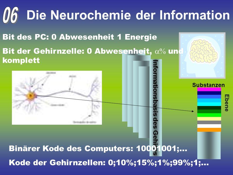 Die Neurochemie der Information
