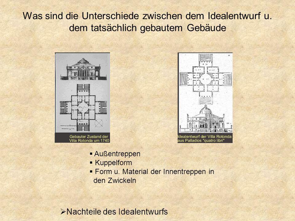 Was sind die Unterschiede zwischen dem Idealentwurf u
