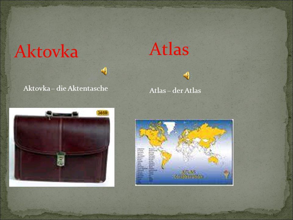 Atlas Aktovka Aktovka – die Aktentasche Atlas – der Atlas